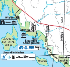 Charmant Map Of Linesville Campground, Pymatuning State Park
