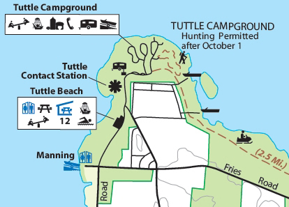 Tuttle Campground, Pymatuning State Park